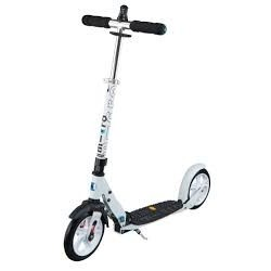 Deluxe YM-AS1 White Scooter