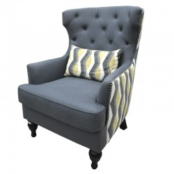 Pierce Accent Chair D.Blue...