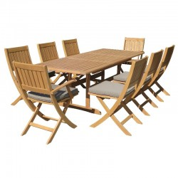 Atoll Table and 8 Chairs...